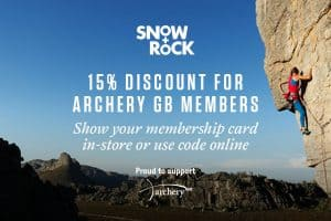 Archery GB Membership Benefits at Snow & Rock