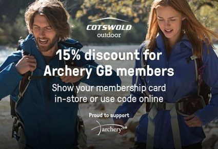 Archery GB Membership Benefits at Cotswold Outdoor