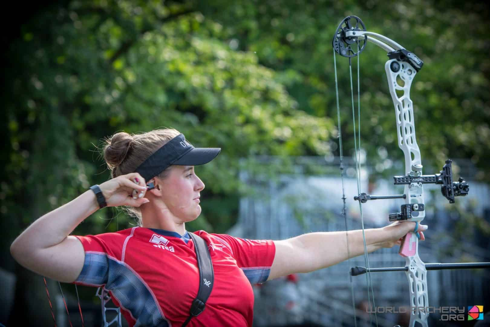 Paralympic squad archer Phoebe Pine