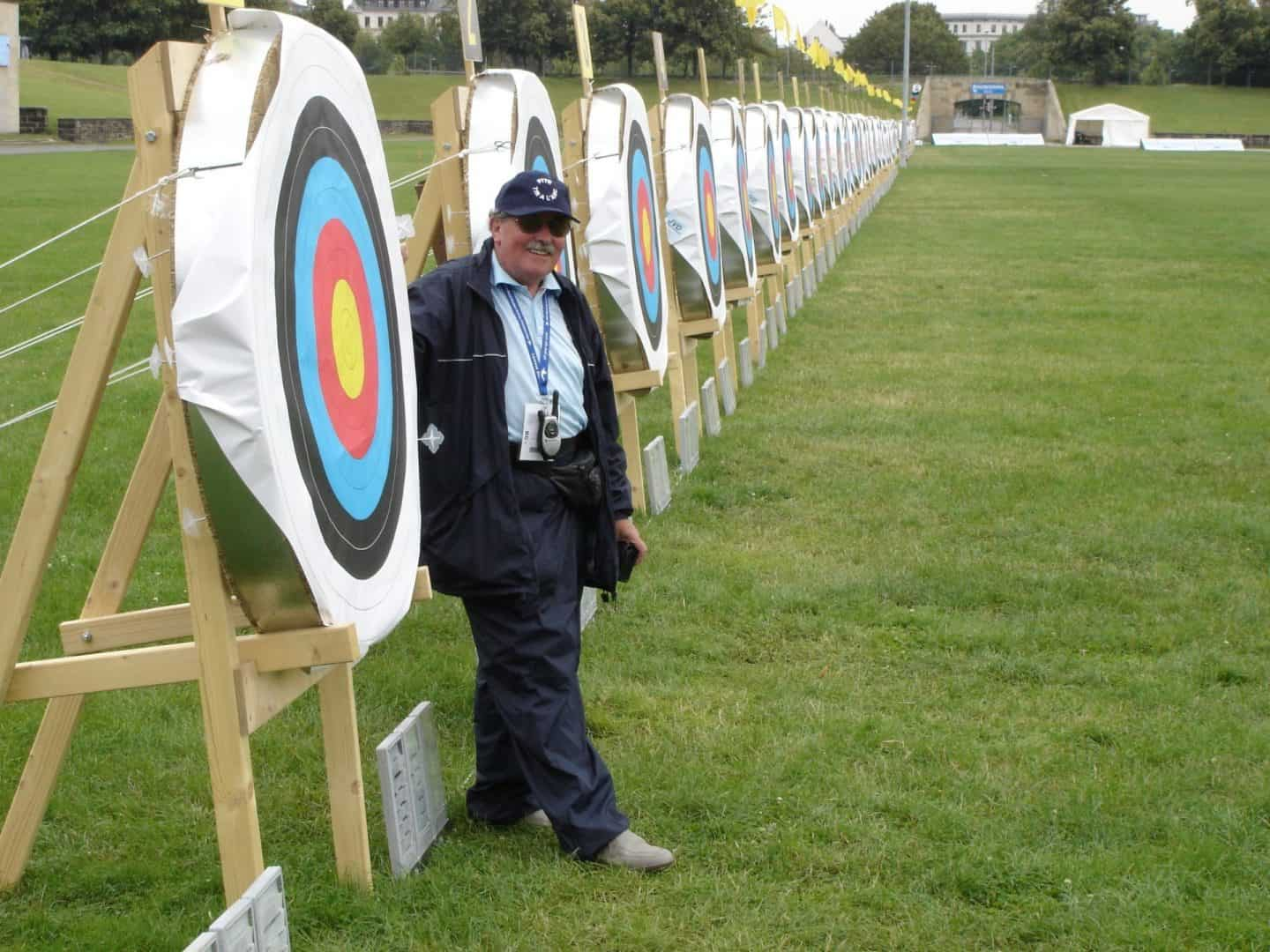 Archery judge and archery targets