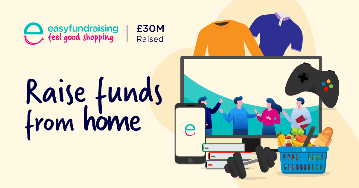 easyfundraising infographic