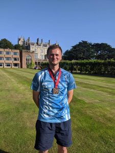 Antony Wood at Archery GB National Tour Final