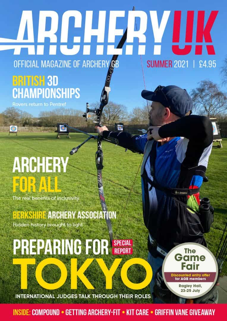 Archery UK Summer 2021 cover