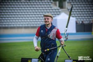 Patrick Huston is through to semi-final for Great Britain