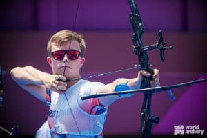 James Woodgate Olympic Archer