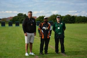 Archery competition winners