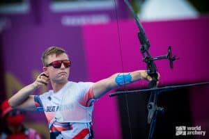 Olympic archer James Woodgate